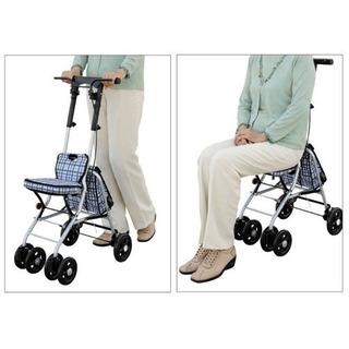値下げ・シルバーカー・介護用品・歩行介助・手押し車 - 家具