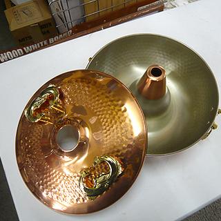 札幌 しゃぶしゃぶ鍋 未使用 直径25 銅製品 なべ キッ…