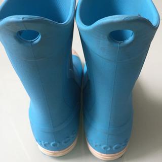 crocs 長靴 J1 19cm程度 - 千葉市