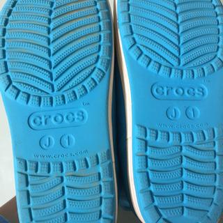 crocs 長靴 J1 19cm程度 - 子供用品