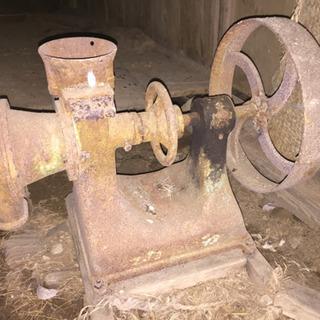 古い農機具 あげます