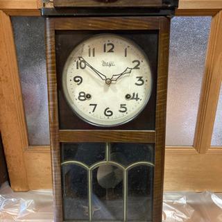 アンティーク時計☆明治時計(株) 昭和30年代 ジャンク