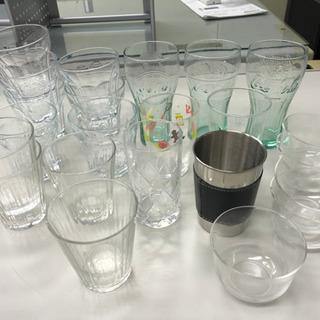 グラスと、マグカップ類