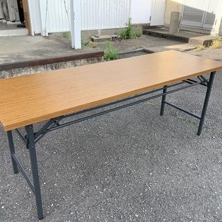 折り畳み 長テーブル 長机 幅1800×奥行600×高さ700㎜...