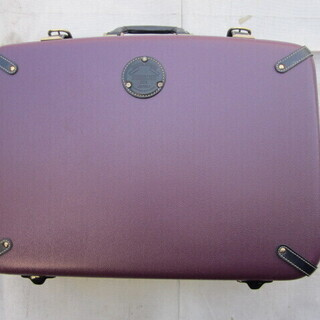 ★maruem  CREW     スーツケース   紫   美品