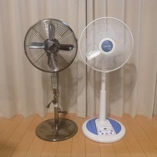 【取引中】扇風機2台まとめて