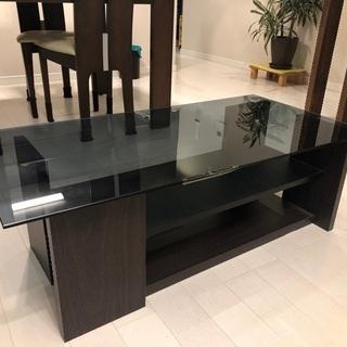ローテーブル ガラステーブル センターテーブル