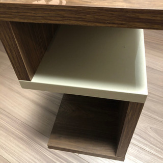 サイドテーブル サイドシェルフ 28×28×56cm - 墨田区