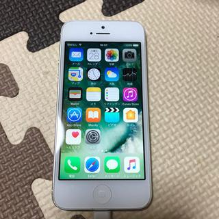 iPhone5 64GB 動作不良なし バッテリー消耗品