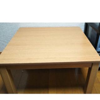 【美品】ニトリ こたつテーブル 70cm×70cm