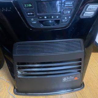 (ハイブリッド)電気温風機付き矯正通気形解放式石油ストーブ