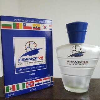 フランス98 オーデトワレ 空きボトル&パッケージ