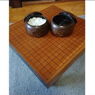 碁盤 囲碁セット サイド塗装一点物価格交渉できます