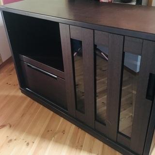キッチンカウンター  【ニトリ】 キッチンボード 食器棚