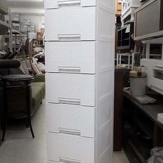 7段プラチェスト 引出し棚 収納家具 幅35 高143.5 札幌市西区
