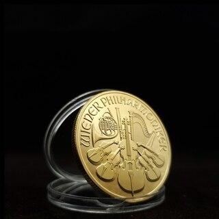 Austria replica ウィーンフィル 100ユーロ金貨...