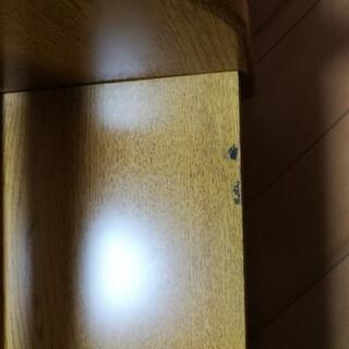 学習机の上に置く本棚(2台) - 家具