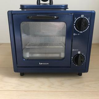 【美品】コイズミ オーブントースター KOS-0700 ブ…