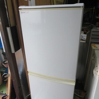 シャープ冷蔵庫137L 2008年製 SJ-14P-H