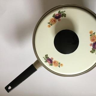 マルビシ 20㎝ ホーロー鍋新品