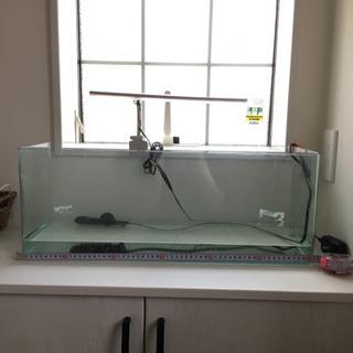 60センチ水槽 熱帯魚用ヒーター 2点セット2000円