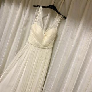 新品 hithert ウエディングドレス ワンピース マーメイド...