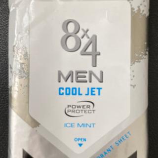 8×4MEN クールジェットデオドラントシート10枚入 21セット