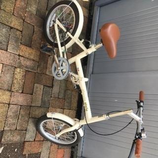 ほぼ新品 折り畳み自転車 16インチ simple Style