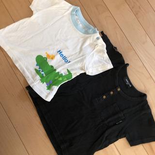 コムサイズム 西松屋 男の子 半袖 Tシャツ おまとめ 2枚セッ...
