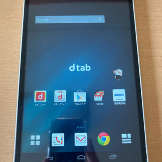 dtab d-01G タブレット