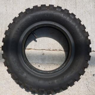 ブリジストン3.50-8インチ新品タイヤチューブ付き