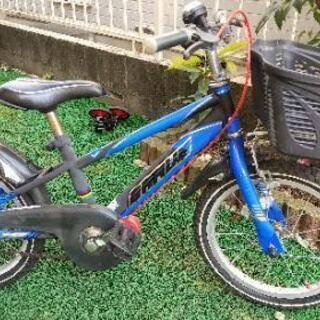 値下げ!16インチ☆子ども用自転車☆トリセツ付!☆取りに来て下さ...