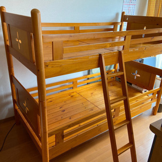 木製 二段ベット