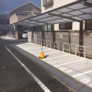 屋根付きバイク駐輪場 月極バイク駐車場 貸します B区画9