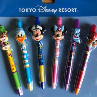 ディズニーキャラクターボールペン6本  未使用