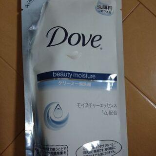 洗顔石鹸!ダヴクリーミー泡洗顔、詰め替え用