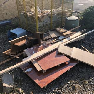 廃材、薪、生木、伐採予定の木など無料