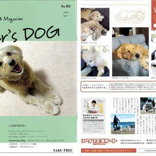 No.3発刊致しました!|愛犬家向け冊子「Lover's DOG...