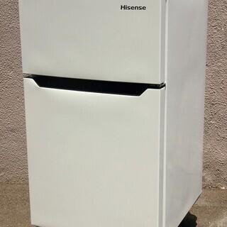 33【6ヶ月保証付】19年製 ハイセンス 93L 冷凍冷蔵庫 H...