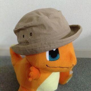 52センチ ベージュ帽子