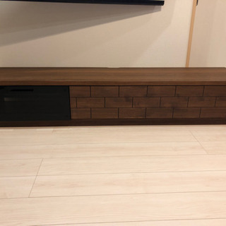 テレビ台 テレビボード アルダー木目 ロータイプ