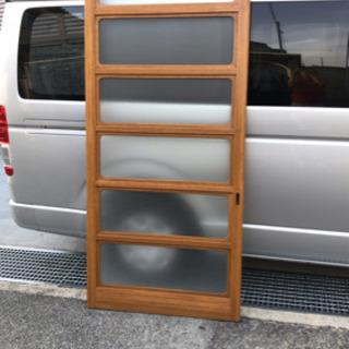 引き戸 すりガラス 木造