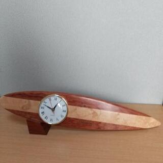 [美品]サーフボード型 時計