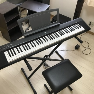 ヤマハの電子ピアノ・フルセット!今のタイミングでいかがでしょうか...
