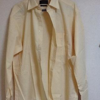 未使用品 ビジネス用シャツ 襟周り41 裄丈82