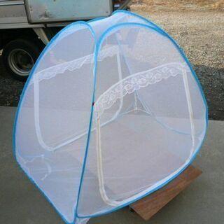 蚊帳 キャンプ 虫よけ メッシュテント 収納 ガーデニング