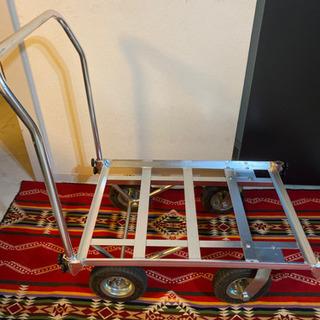 キャンプカート 台車 リヤカー アルミ製