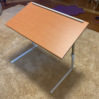 【美品】折りたたみサイドテーブル