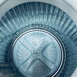 281番 SHARP✨全自動洗濯機✨ES-GE55L-A‼️ - 新宿区
