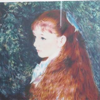 絵画 ルノワール/「可愛いイレーヌ」